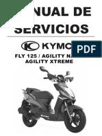 manual de servicio de agility 125/fly/xtreem