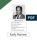 Early Harvest by Beinvenido Santos