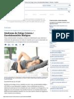 Síndrome de Fatiga Crónica _ Encefalomielitis Miálgica