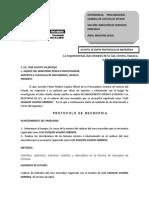 Protocolo de Necropsia (Peligrosidad de Objeto).- Cruz Pérez Rafael David
