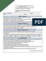 Ficha Reflexion Semanal Del Diario Pedagogico