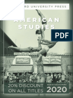 Stanford University Press | American Studies 2020 Catalog