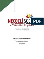 Progrma de Gobierno_Necocli Social