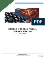 Storia d'Italia Nella Guerra Fredda