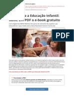 Bncc Para a Educacao Infantil Baixe Em PDF o e Book Gratuitopdf