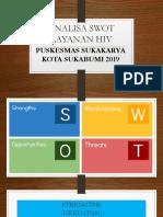 Analisa Swot Layanan Hiv