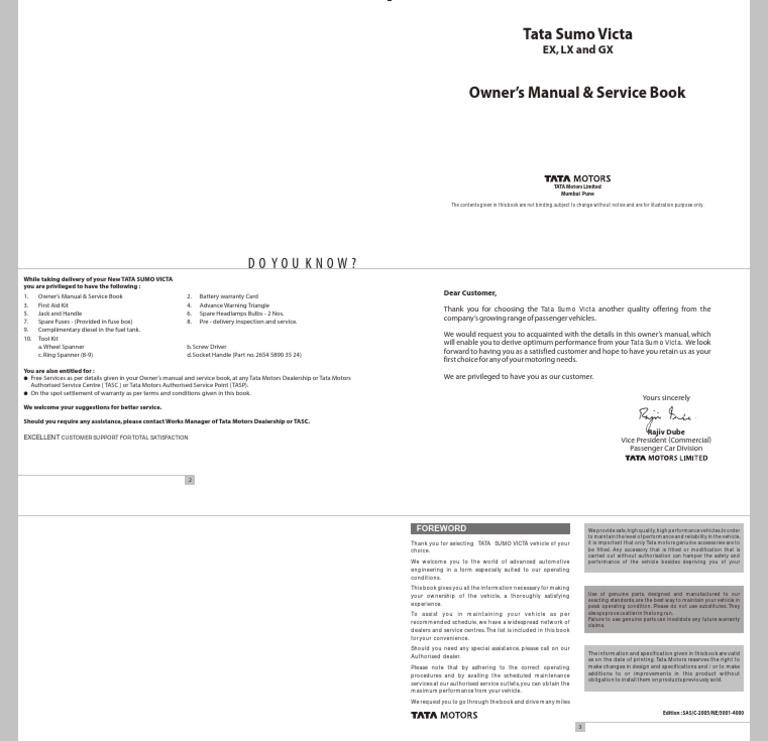 Tata sumo victa manual seat belt headlamp fandeluxe Choice Image