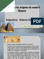 Conociendo Los Orígenes de Nuestra Historia