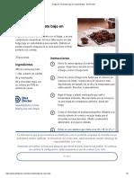 Fudge de Chocolate Bajo en Carbohidratos - Diet Doctor