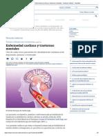 Enfermedad Cardíaca y Trastornos Mentales