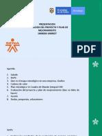 PRESENTACION Evaluación Del Proyecto y Plan de Mejoramiento