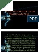 Analisis de Las Vias ....LA COLCHA de RETAZOS