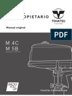 Manual de Usuario Tohatsu M5B - 5HP