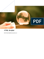 HTML Scripter