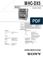00 - Som - Sony_mhc-dx5_sm Service Manual Schematic