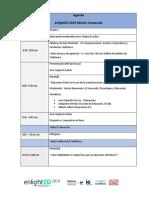 Agenda Enlighted Venezuela 2019