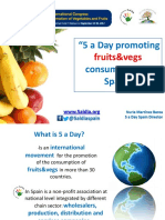 14. NURIA MARTINEZ BAREA, SPAIN - 5 a Day Promoting Fruit and Vegetables Consumption