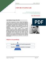 Lenguajes y Compiladores 2019-II Guia 1 (Espec Lenguajes )