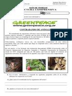 Guia de Trabajo - Lectura Comprensiva - Greenpeace