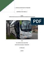 Curso Técnicas en Conducción de Vehículos de Pasajeros Por Carretera