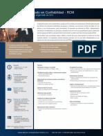 certificación DE MANTENIMIENTO CENTRADO EN CONFIABILIDAD
