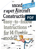 Paper Aircraft Construction Advanced)