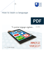 The Open University - How to learn a language
