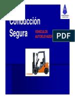 Seguridad en Auto Elevadores