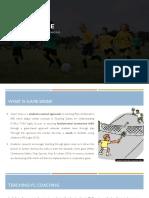 game sense - assessment 2