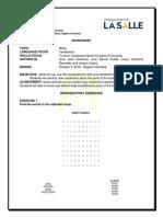 Trabajo Worksheet 1 VOCABULARY