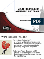 Acute Heart Failure Initial Assessment and Triage