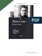 Marie Curie - Robert Reid