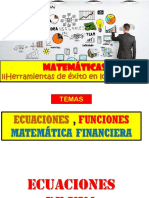 Ecuaciones Funciones , Variac Porc