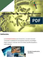 CT1 Fronteras de La Microbiología Microbioma F_Magne