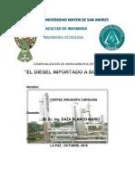 Negocio de Venta GLP a Paraguay