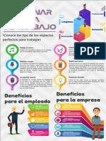 Infograma como gestionar tu área de trabajo