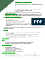 17. Pre y Post Operatorio.