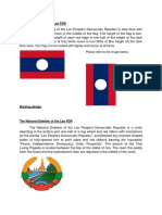 Lao PDR Flag Specs 2