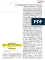 Decreto Supremo Que Modifica El Reglamento de Proteccion Ambiental Ds 008 2019 Mtc