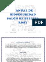 Manual de Bioseguridad Salón de Belleza Rosy