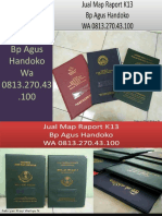 WA 0813.270.43.100, Jual Cetak Raport K13 diPanyabungan Sumatra Utara