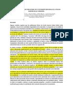 Efectos de La Densidad Poblacional en El Crecimiento Individual de La Trucha Marrón en Las Corrientes