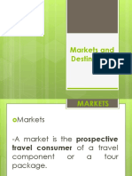 3 Markets and Destinations