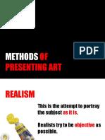 HUMANITIES Methods of Presenting Art.pptx