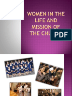 Women in the Life and Mission of The