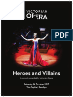 Heroes and Villains Program
