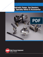 Pumps, Boosters and Power Units Brochure