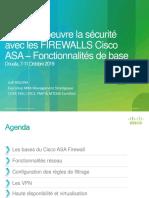 Fonctionnalités de base de ASA Firewall