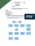PRÁCTICA 1 - BIOSEGURIDAD