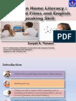 Children Home Literacy